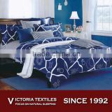 new blue style duvet cover with pillow case quilt cover bedding sets all sizes
