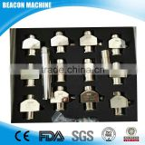 Common rail injector diagnostic tools of 12 pieces clamp holder or adapters