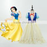Occident new arrival Snow White princess dress 2015 fashionable girls performance/party/costumes dress Halloween clothing