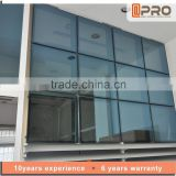 Frameless glass curtain wall unitized curtain wall
