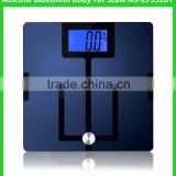 High Quality Bluetooth Digital Body Fat Bathroom Weighing Scale with ITO Coating BMI Function