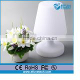 led floor/table craft lamp,rgb color decorative led battery operated table lamps