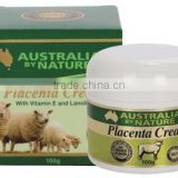 Australian By Nature Placenta Cream 100g with Vitamin E, Lanolin, Collagen & Elastin (Premium) Australian made