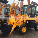 1.0 ton Broom Machine mini wheel loader price cheap, popular in european market, good quality constructional machine