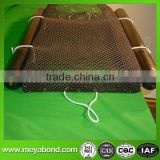 hdpe oyster bags for oyster farming cage mesh netting with uv