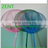 ZENT-82 kids butterfly bamboo pole fishing net