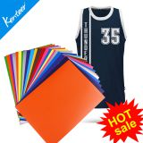 TPU heat transfer vinyl 12colors 21*29cm size for all type cutting machine