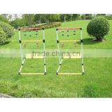 Ladder golf game outdoor game with PPR frame,ball toss game,blongoball
