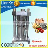 automatic mustard oil machine/mini flaxseed oil press machine/hydraulic sesame oil press machine