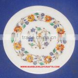Whole Seller Top Quality Marble Inlay Plate