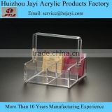 Factory wholesale acrylic personalized tea bag box and tea bag storage box