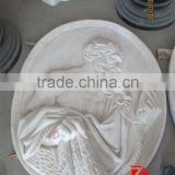 Stone relief decorative wall