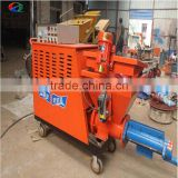 wall cement mortar spraying machine powered by diesel engine