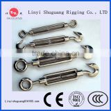 316 and 304 Stainless Steel Turnbuckle With High Polished