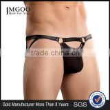 New Arrival Male Custom Brand Leather Mini Mens Underwear Incontinece Underwear Boxer Briefs Cheap