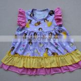 6-12M baby girl pearl dress new designs layer ruffle kids cute tunic tops manufacturered in zhejiang