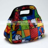 GR-W0124 fashional neoprene lunch bag with full printing