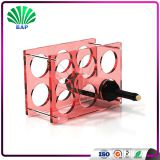 Home Decorative Wall-Mounted Acrylic Wine Rack With 6MM Thickness
