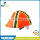 Wholesale customized safety hi vis bike helmet cover