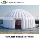 Wedding Inflatable Dome Tent with LED Light / Giant White Inflatable Igloo Airtight Tent