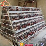 4 tier chicken layer cages automatic poultry cages galvanized wire mesh battery broiler cage price for Uganda Philippine