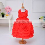 Red Big Rose sexy Party Dress