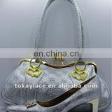 2013 fashion ladies party shoes and bag set