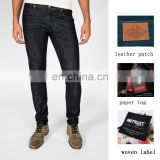 classic black business denim jeans men cropped fashion trousers jeans oem & odm manufacturer