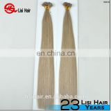 YBY High Quality Zero Waste No Chemical Processed Virgin Malaysian U Tipped Hair