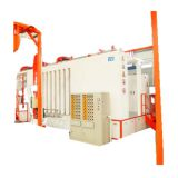 Semi-Automatic Powder Aluminium Profile Powder Coating Plant Production Line