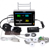 Portable Patient Monitor with 8 Inch Screen and Six Parameters BenePM-8