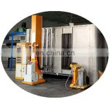 Automatic powder coating booth for aluminium profiles 13