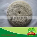 100% natural sheep wool car polishing pad