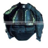 Fashionable Camouflage Motorcycle Jacket Body Armor Protector