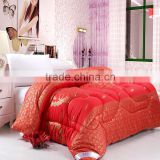 Thick chinese traditional luxury design double bridal Wedding Bedding Set Comforter Set
