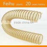 WOODWORKING PU/TPU COIL HOSE, SAWDUST SUCTION HOSE,PU WOODWORKING DUCT HOSE
