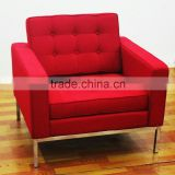 Luxury famous Leather Florence Knoll sectional sofa living room sofa replica
