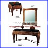 Latest Antique Hall Mirrored Console Table S-0941