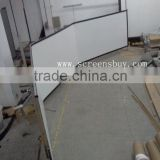 Large Curved projector Screen/silver screen fabric/fixed frame screen/curved frame screen/fast fold screen