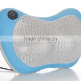 new design kneadind shiatsu massage pillow/vibration neck massage pillow with CE,RoHs certified for home/car/office                                                                         Quality Choice