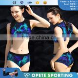 (ODM/OEM Factory/Trade Assurance)2016 Fashion OEM Girl Custom Digital Printed Swimwear Bikini                                                                         Quality Choice