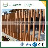 Top quality Anti-uv and anti-slip WPC wood composite outdoor fence panels