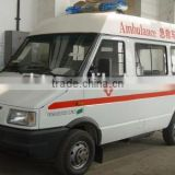 china mini bus for special purpose use for ambulance vehicle