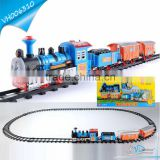 Hot Best Selling Kids Battery Operated Plastic Train Tracks Toy Set