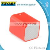 waterproof bluetooth shower speaker builded in bass MP3 Stereo Speaker with Microphone MIC