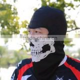 White Skull Balaclava Hood Full Warm Neck Face Cycling Ski Windproof Protector Mask