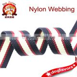 Red and blue color ,Medal Nylon Webbing
