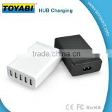 Charger prevent the devices from over charge, short circuit, over heating while preserving the battery life of the media devices