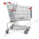 125Liters Australian style supermarket shopping trolley