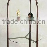 Produce Round Metal Wire Display Rack,display metal,metal display fixture,metal rack display
